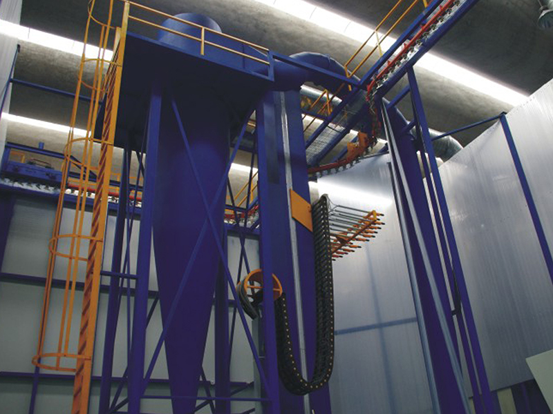 Oxidation coating line