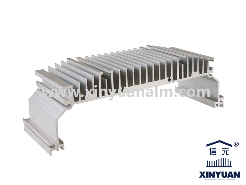 LED aluminum radiator